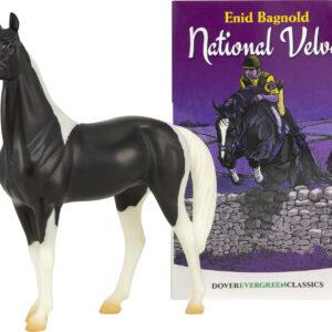 National Velvet Horse & Book Set