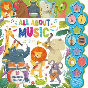 All About Music: Interactive Children's Sound Book with 10 Buttons