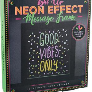 Light Up Neon Effect Message Frame