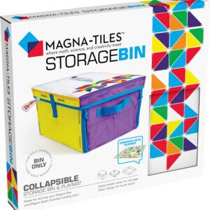 Magna-Tiles Storage Bin & Playmat