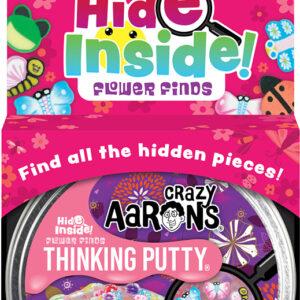 Hide Inside! Flower Finds Thinking Putty