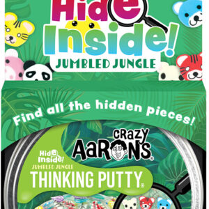 Hide Inside! Jumbled Jungle Thinking Putty
