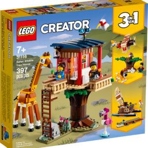 LEGO CREATOR 3 in 1 Safari Wildlife Tree House