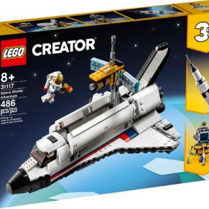 LEGO CREATOR 3 in 1 Space Shuttle Adventure