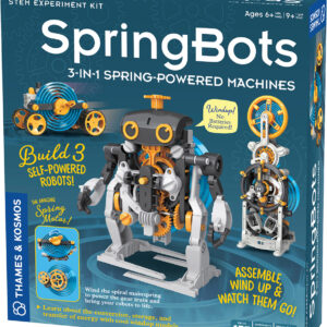 SpringBots 3-in-1 Spring-Powered Machines