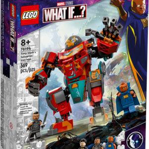 LEGO MARVEL WHAT IF...? Tony Stark's Sakaarian Iron Man