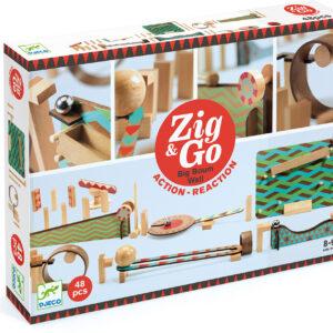 Zig & Go - Ultimate Domino 48 Piece Race Set