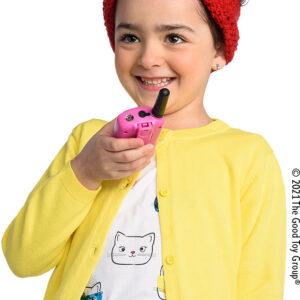 Retevis RT388 2 pcs Kids Walkie Talkies with Flashlight - Pink