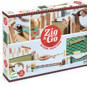 Zig & Go - 48 pcs Marble Run