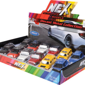 """5"""" Die Cast Pull Back Suv Series 1:43 Scale"""
