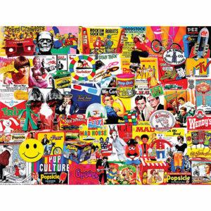 Pop Culture - 1000 Piece - White Mountain Puzzles