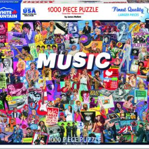 Music - 1000 Piece - White Mountain Puzzles