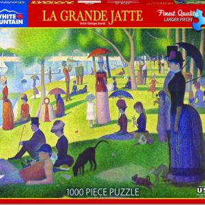 La Grande Jatte - 1000 Piece - White Mountain Puzzles