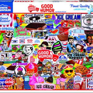 Good Humor - 1000 Piece - White Mountain Puzzles
